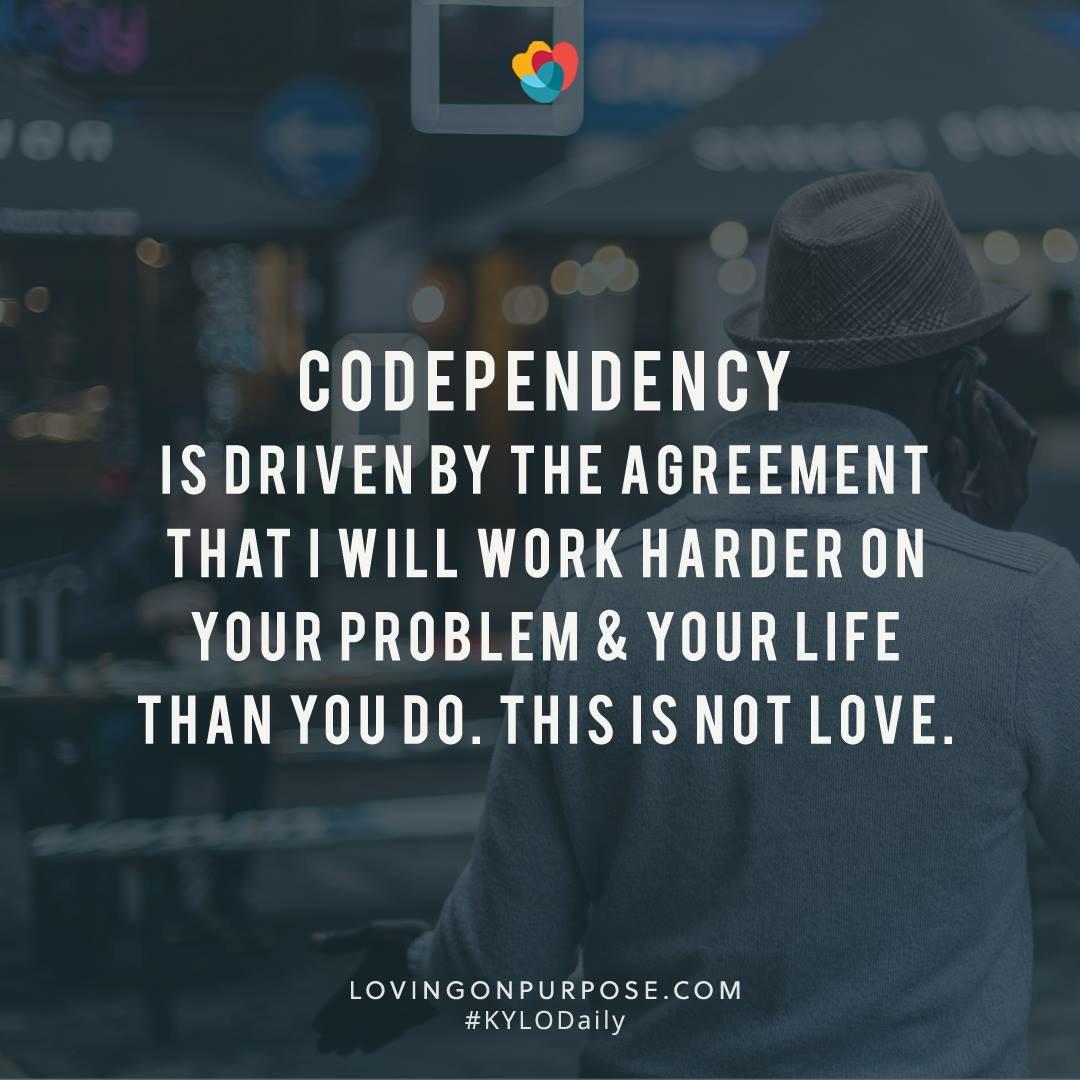 codependency lovingonpurpose